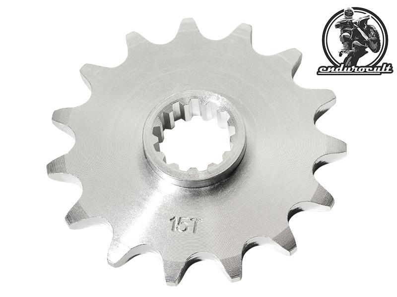endurocult Ritzel 15 Z/ähne kompatibel mit Suzuki//Beta DR,DRZ,Z,RM,200,250,350,400,E,SM,Alp